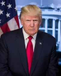 Donald J. Trump is the 45th President of the United States. Credit: https://www.whitehouse.gov/